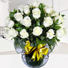 Florero Con 24 Rosas Blancas