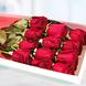Caja Con 12 Rosas Rojas