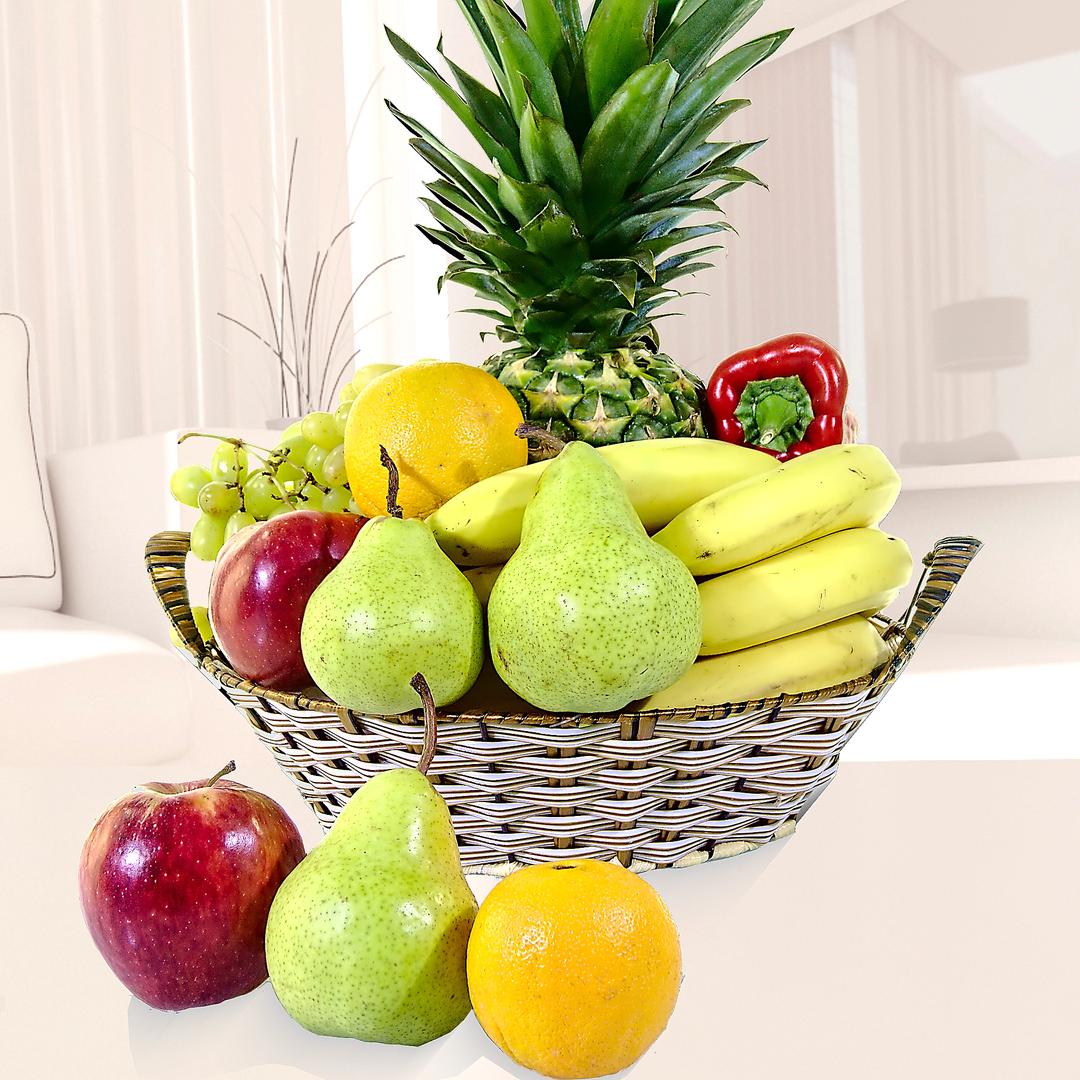 Canasto De Frutas Para Compartir Mediano